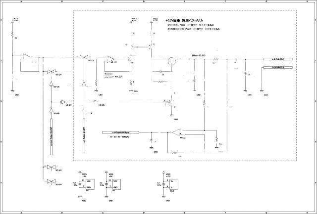フ〇リアートプロトタイプ回路図