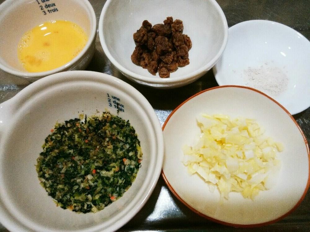 健康一番でお好み焼きの作り方1