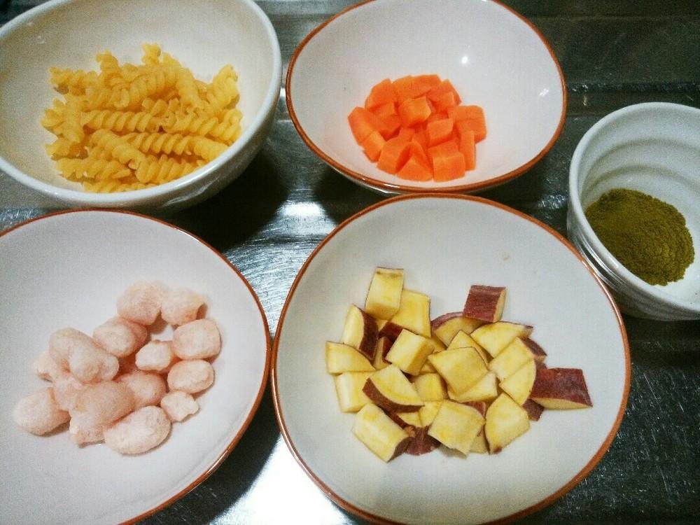 野菜たっぷりパスタの作り方1