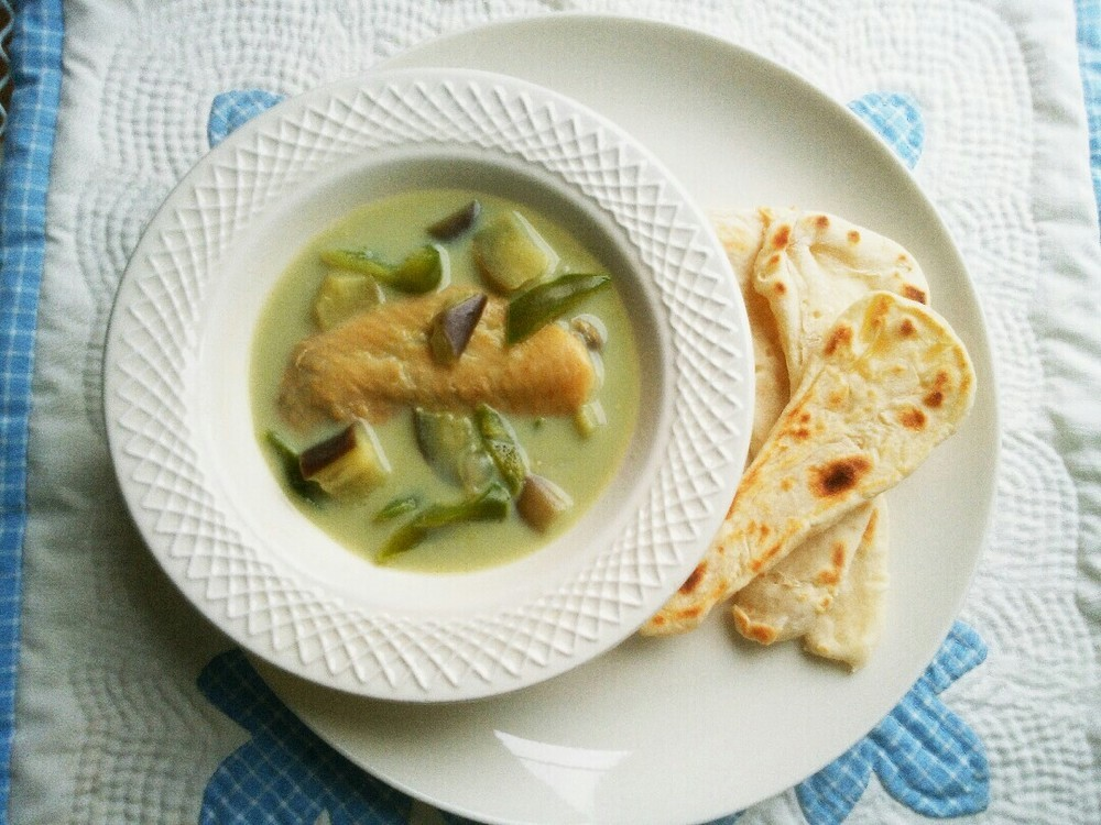 グリーン野菜カレーの作り方10