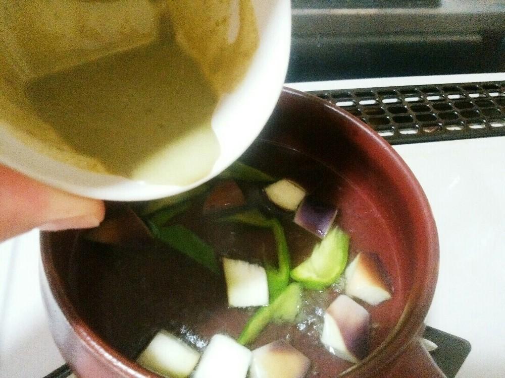 グリーン野菜カレーの作り方6