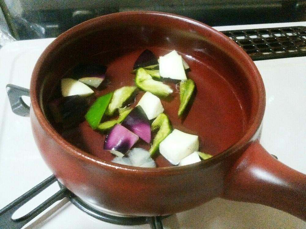 グリーン野菜カレーの作り方5