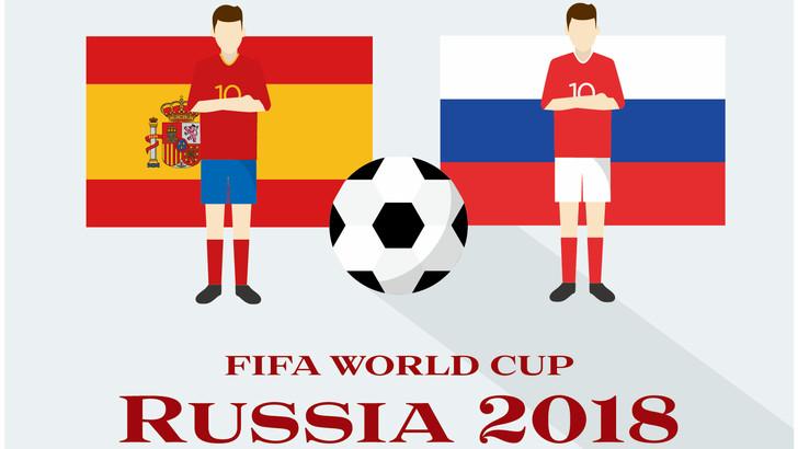 スペイン対ロシア