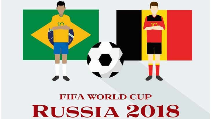 ブラジル対ベルギー