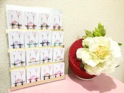 鶴の雫ピアス1