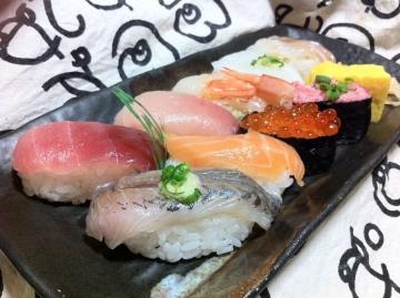 サミットで買った寿司