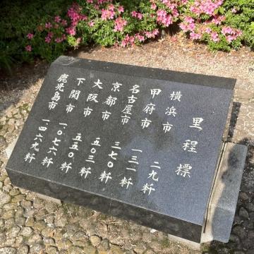 里程標東海道