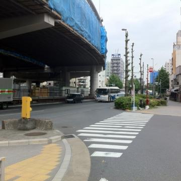 上宿から合流ここまでが江戸