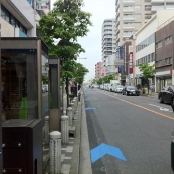 浦和宿からは線路の東
