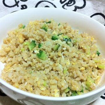 玄米焼き飯
