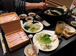 しゃぶ葉(豚バラ食べ放題)
