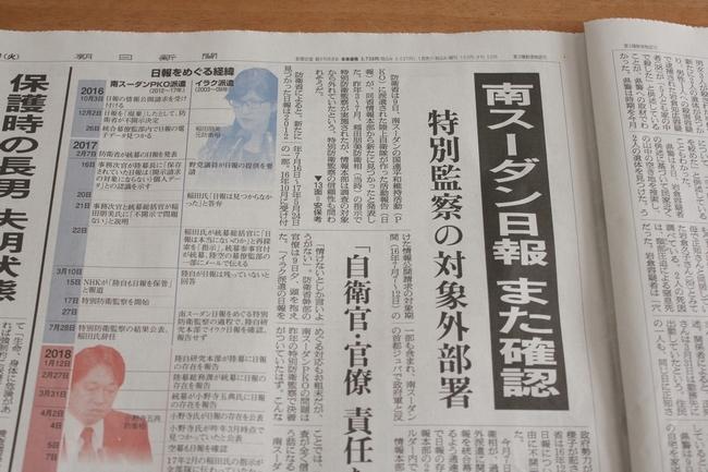 テーブル上新聞 013