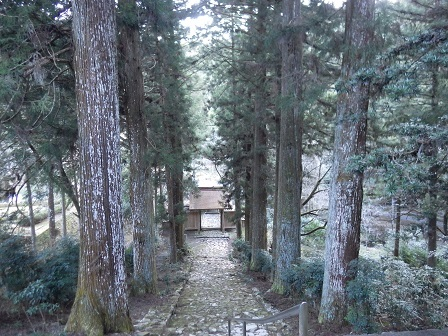 龍澤寺石畳