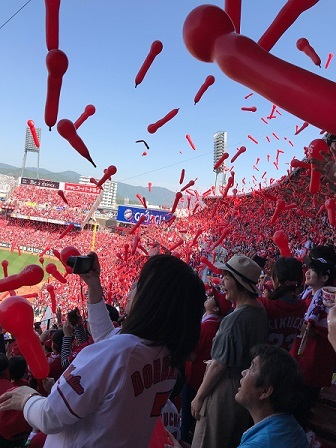 カープ観戦2018