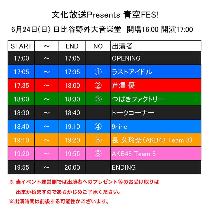【朗報】チーム8長久玲奈さん、野外フェスでソロ出演が決まる