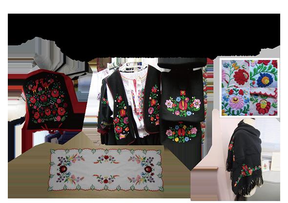 世界の刺繍ハンガリー③