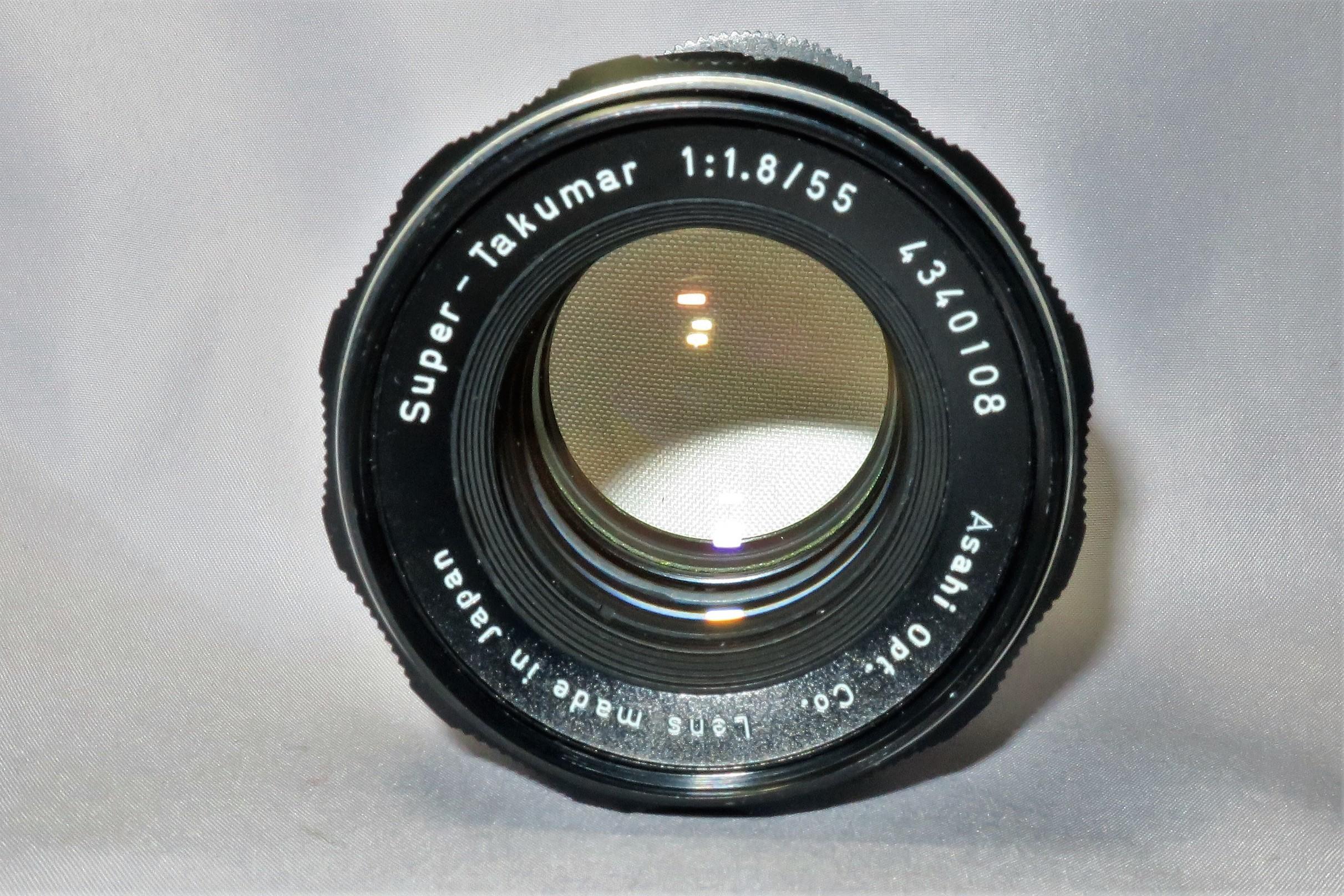 スーパータクマー55mmF1.8