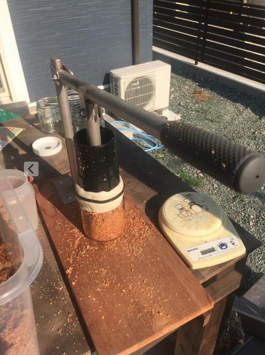 菌糸詰め治具