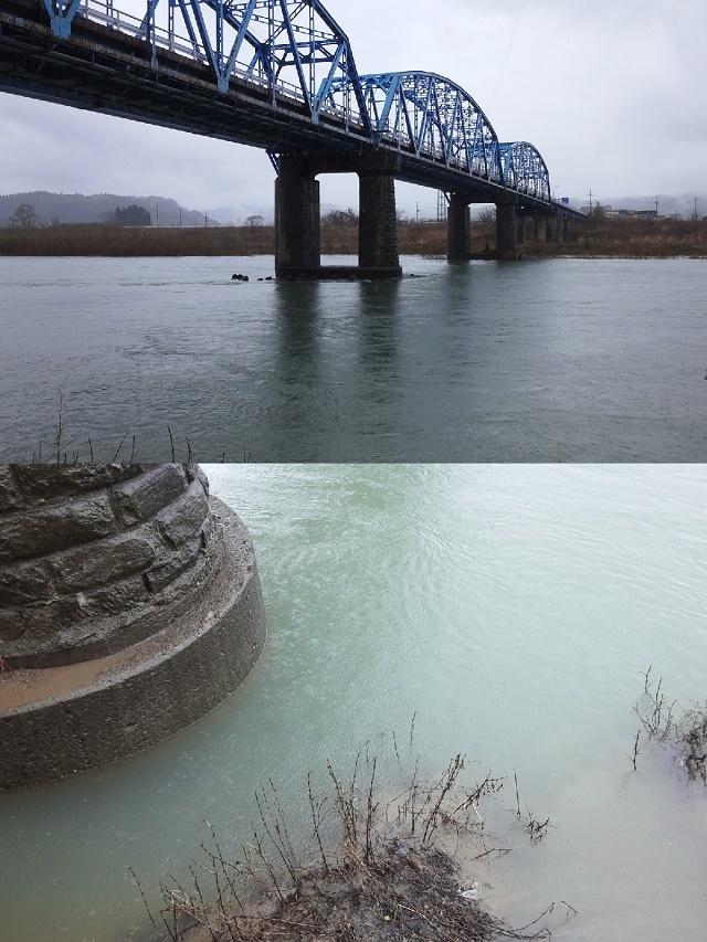3月6日 米白橋 水位0、60