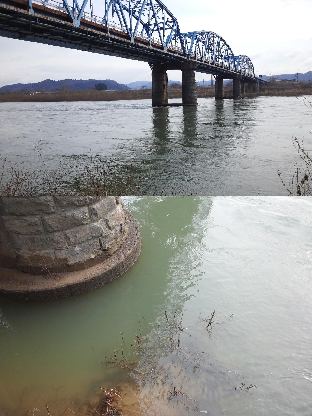 4月8日 米白橋 水位0、95