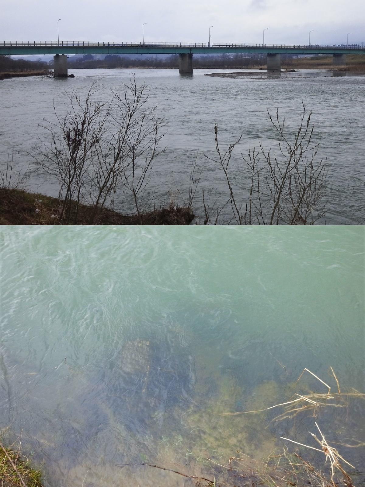 4月8日 新真中橋 水位0、40
