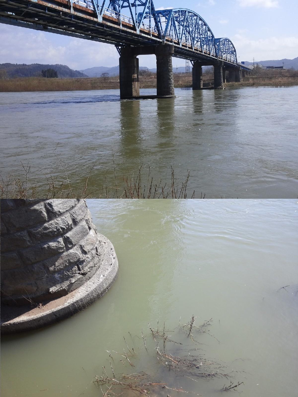 4月12日 米白橋 水位0、93
