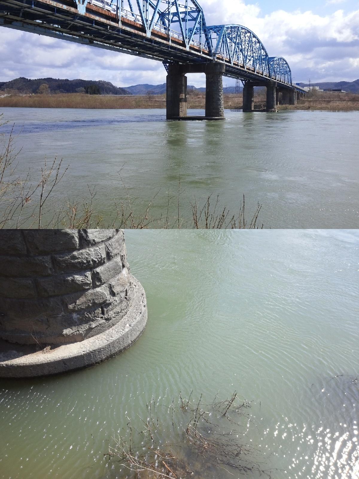 4月13日 米白橋 水位0、89