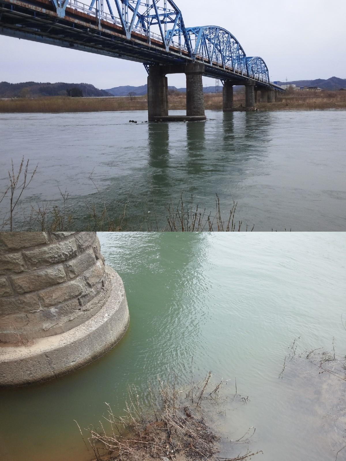 4月14日 米白橋 水位0、64