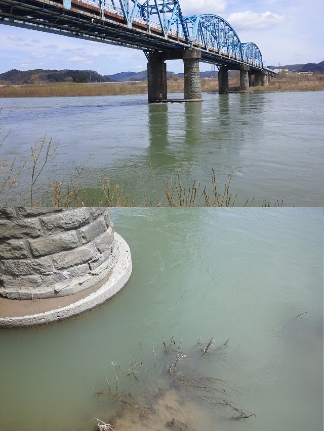 4月17日 米白橋 水位0、97