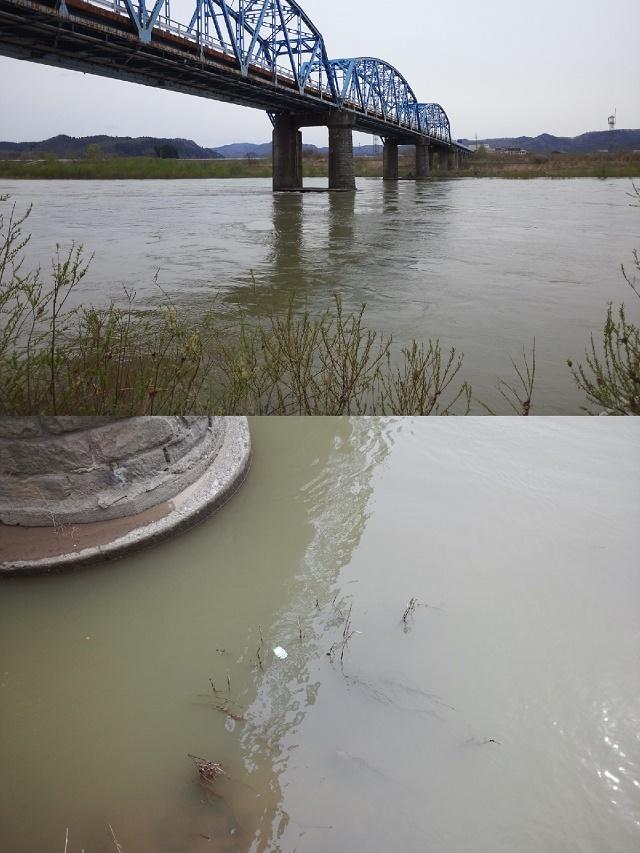 米白橋4月23日 水位1、08