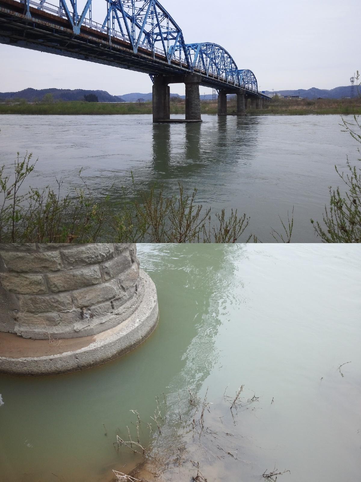 4月24日 米白橋 水位0、86