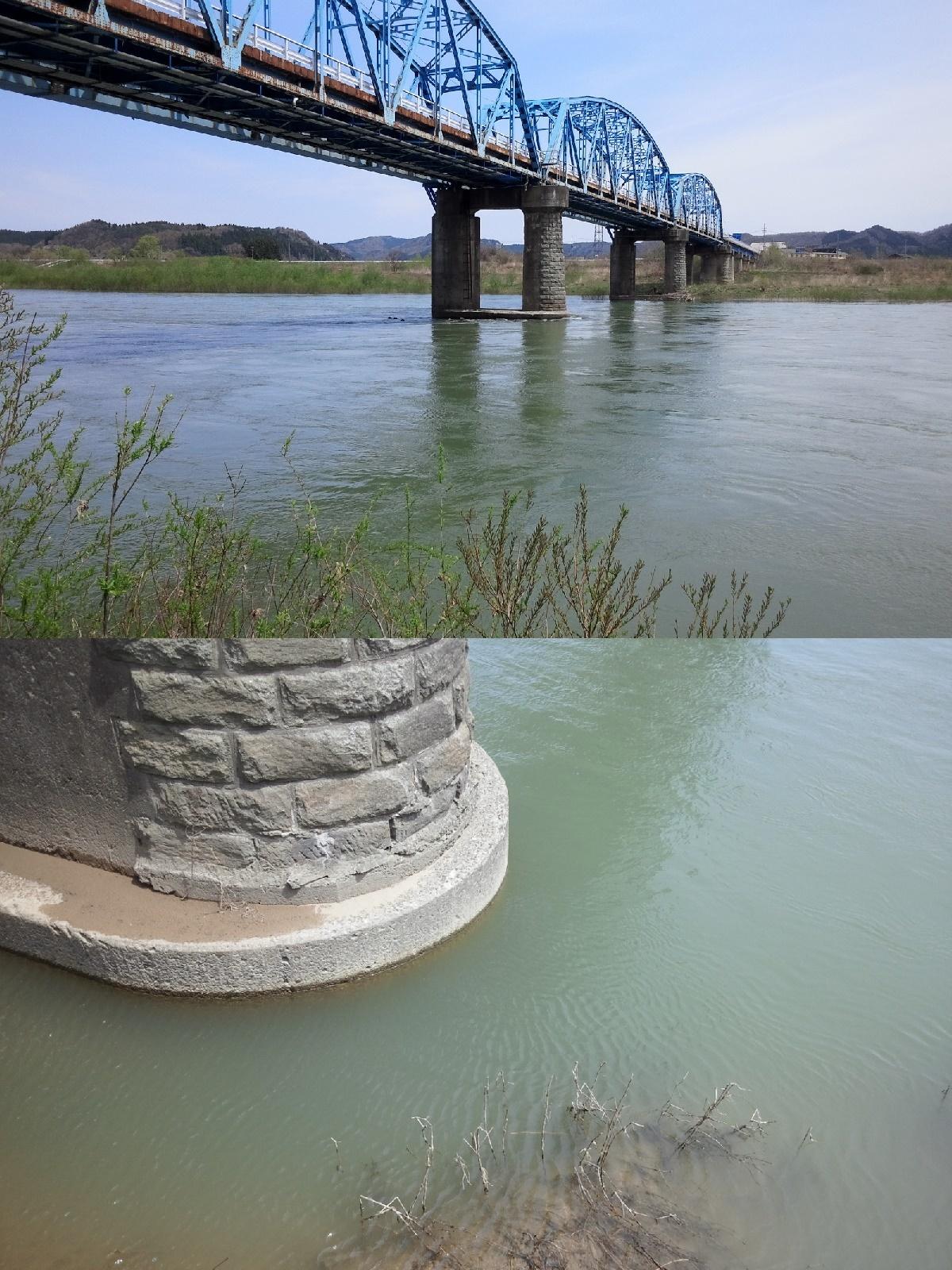 4月27日 米白橋 水位0、86