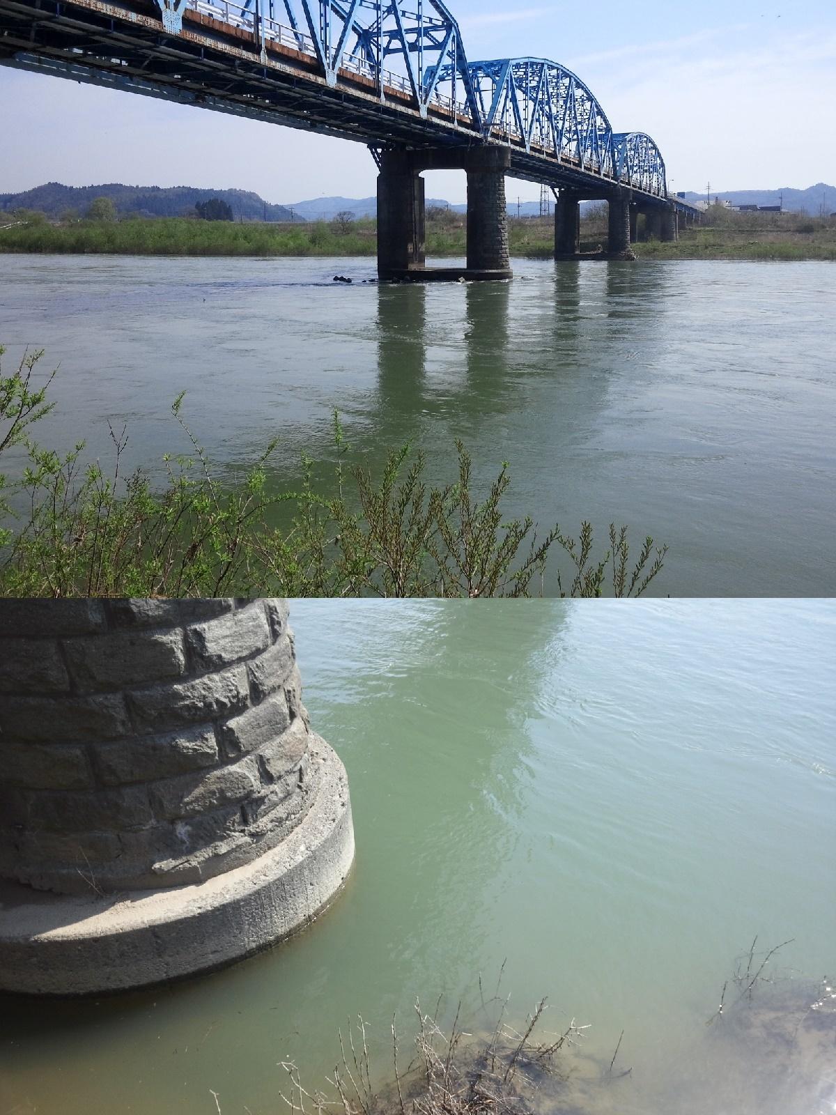 4月30日 米白橋