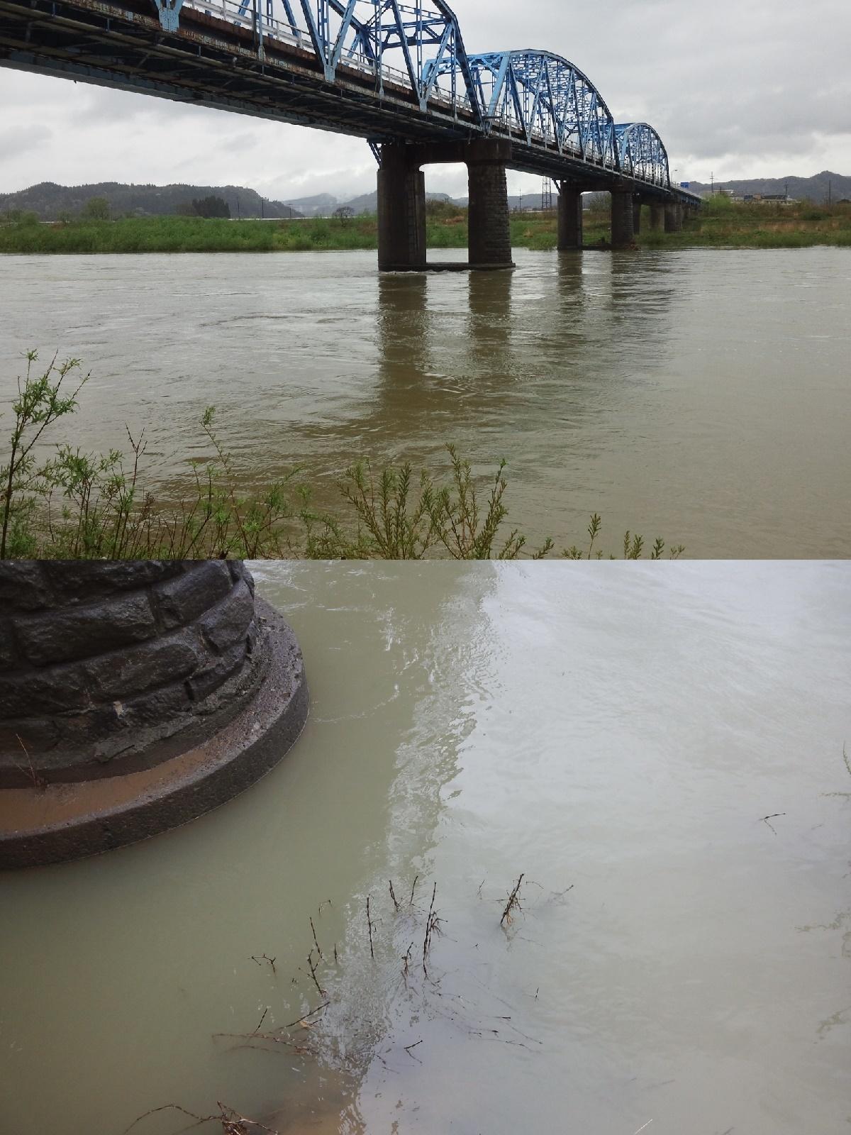 5月4日 米白橋 水位0、92