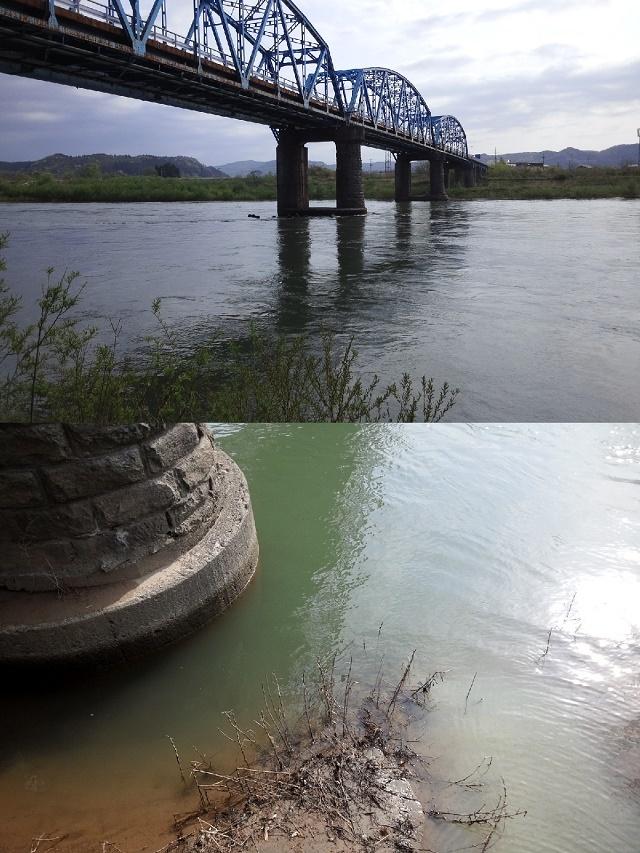 5月6日 米白橋 水位0、64