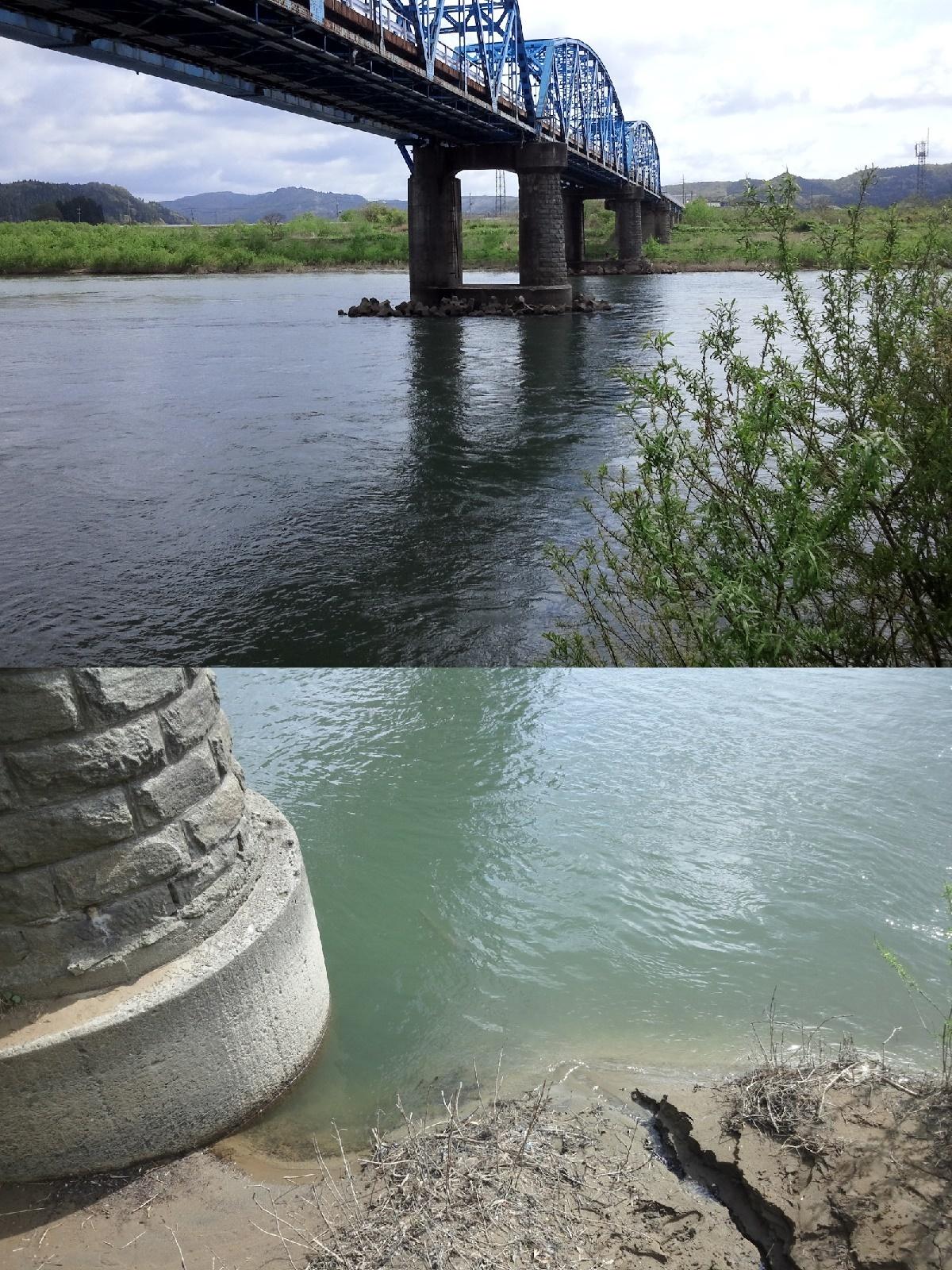 5月11日 米白橋 水位0、08