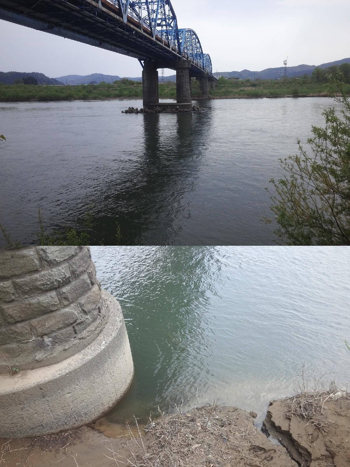 5月12日 米白橋 水位0、06