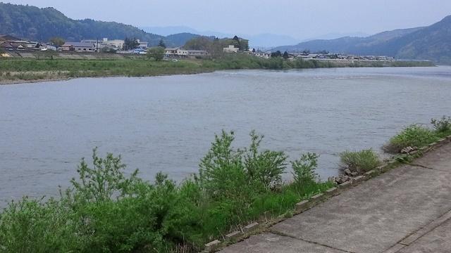 5月13日 銀杏橋上流