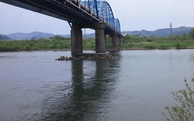 5月13日 米白橋 水位 0、08