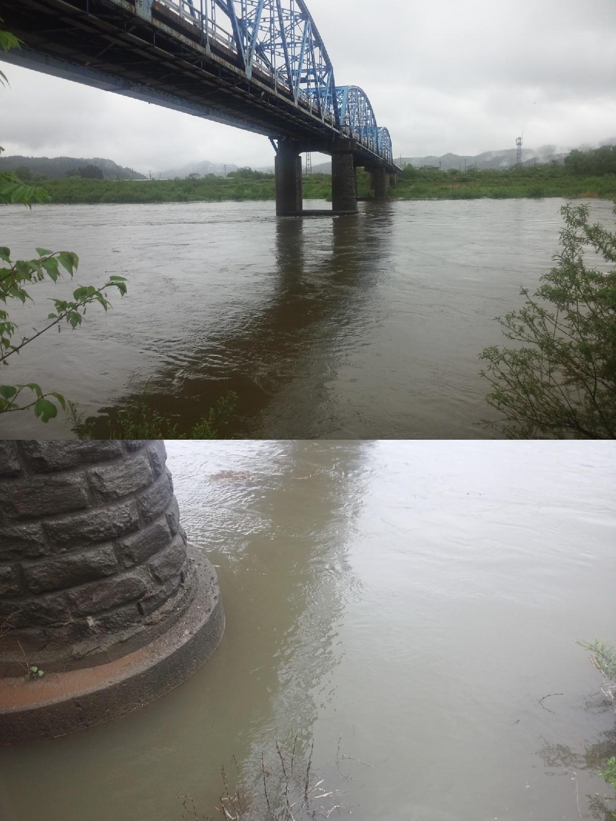 5月17日 米白橋 水位0、84