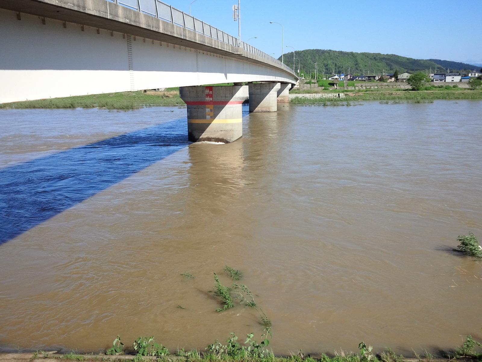 5月20日 銀杏橋 水位1、87