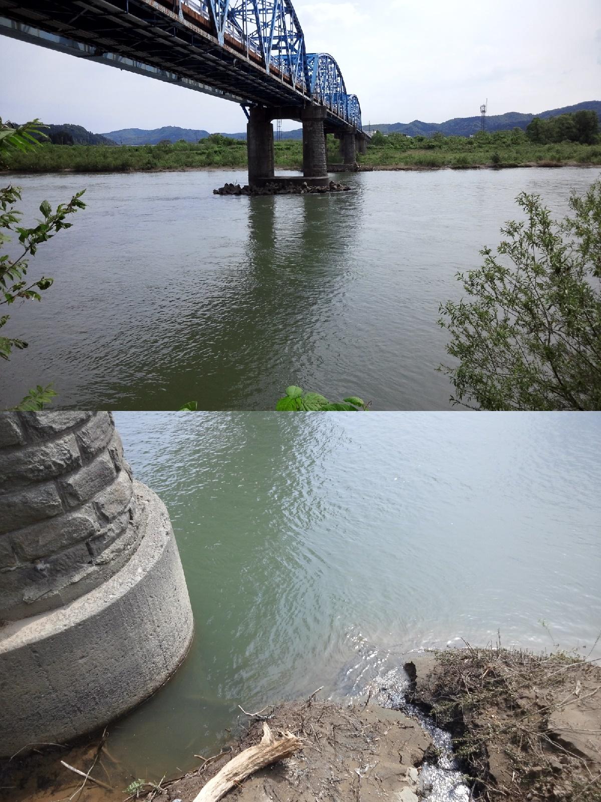 5月28日 米白橋 水位 -0、02