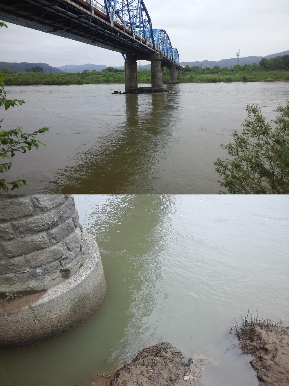 6月2日 米白橋 水位0、29
