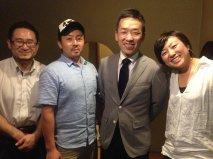 吉岡さんと仲間の鍼灸師