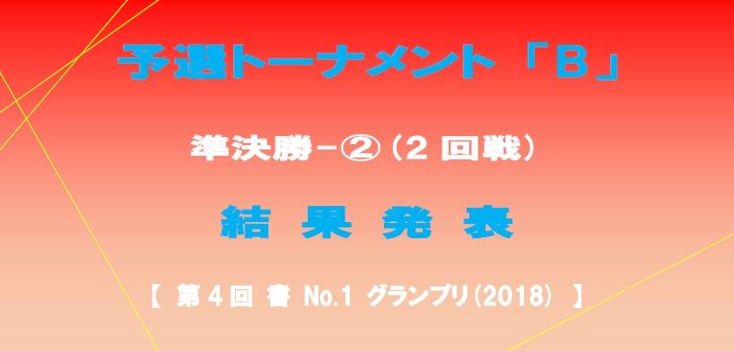予選-B-準決勝-2-結果発表ボード-2018-06-08-19-38