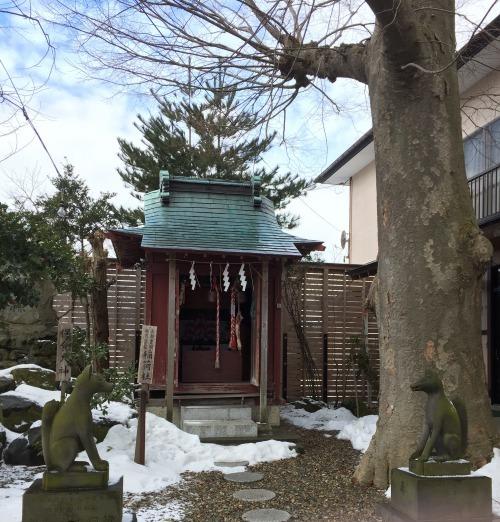 三皇熊野神社境内三皇稲荷神社