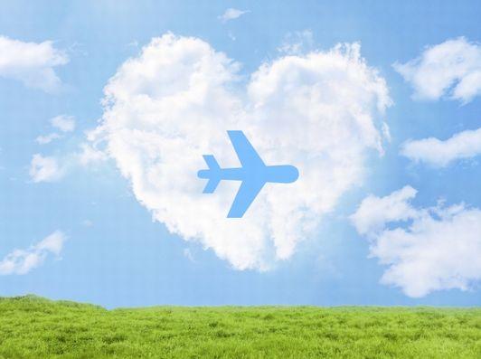 飛行機とプレゼント.jpg