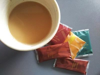 紅茶オレとクッキー
