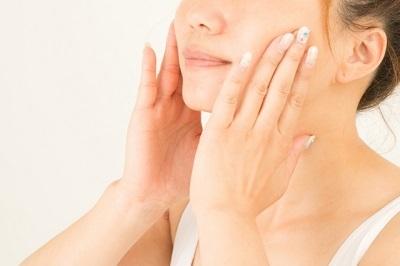 化粧水を肌に浸透