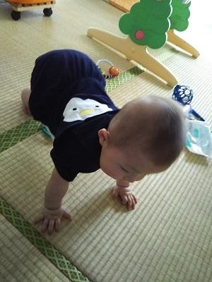 息子8か月
